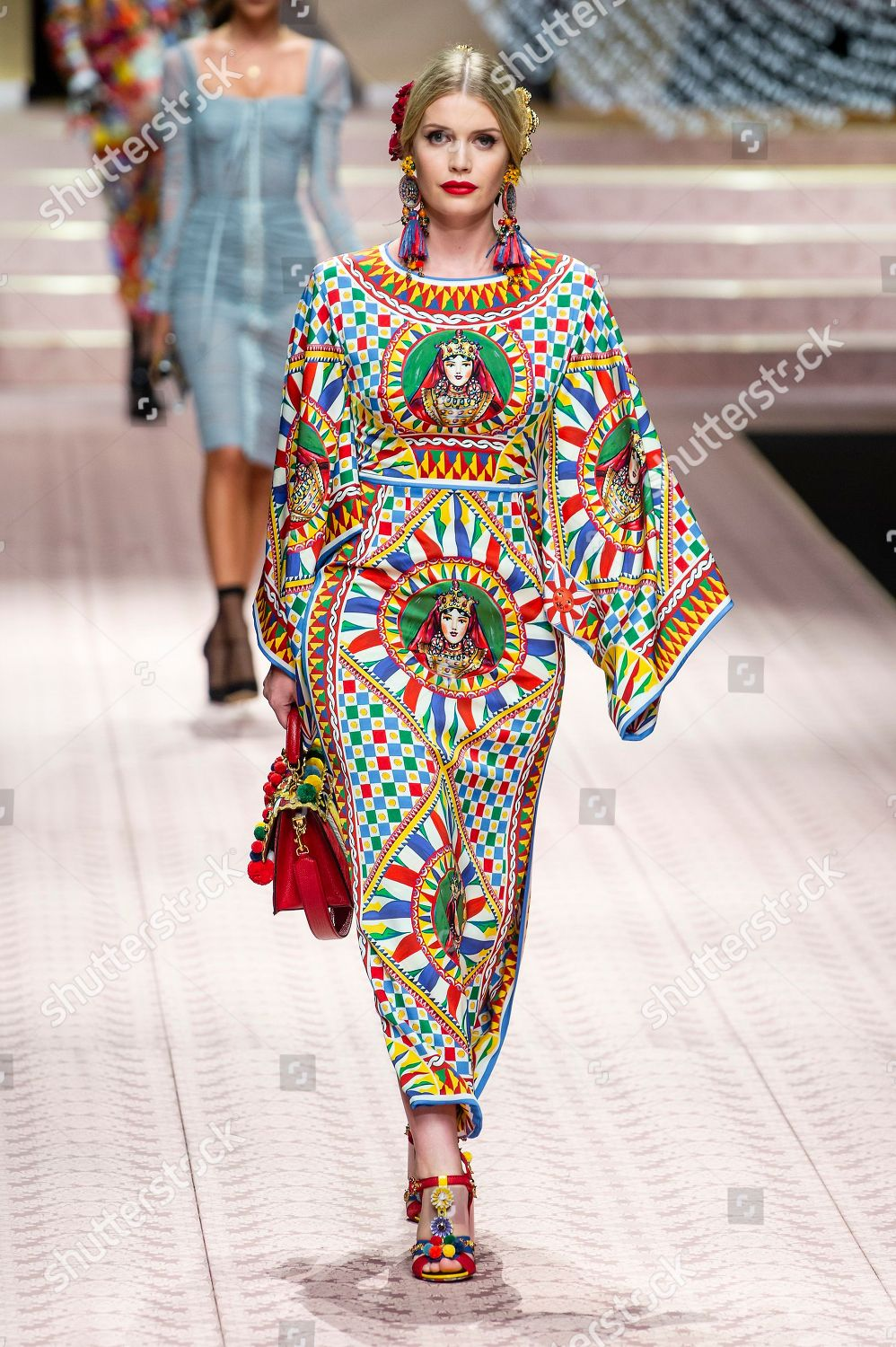 a3e56c8e Dolce & Gabbana show, Runway, Spring Summer 2019, Milan Fashion Week, Italy  Stock Image by Shutterstock for editorial use, Sep 23, 2018