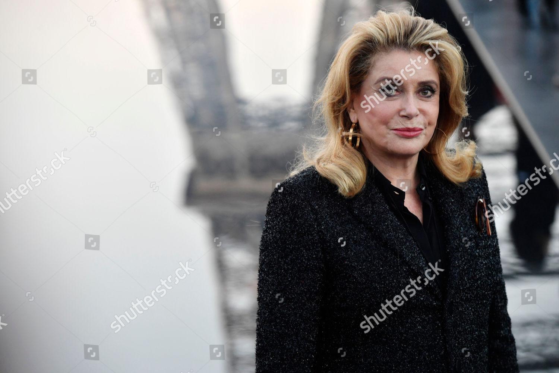 French Actress Catherine Deneuve Arrives Women Springsummer