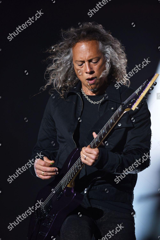 Kirk Hammett Metallica Editorial Stock Photo - Stock Image