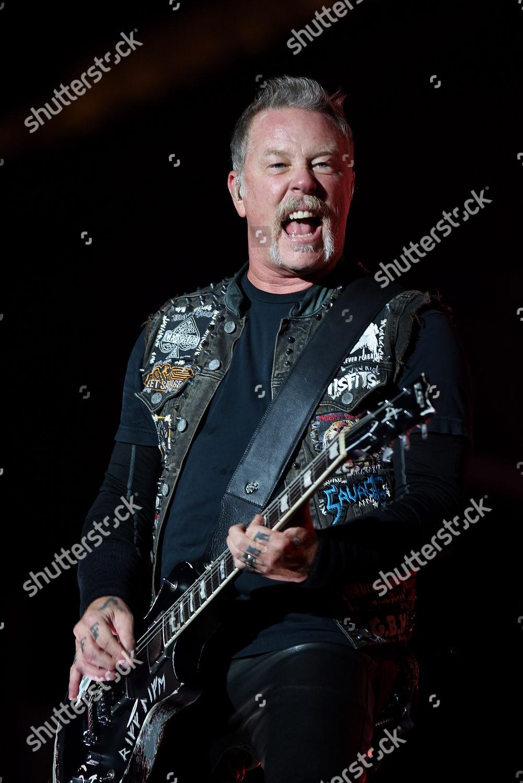 James Hetfield Metallica Editorial Stock Photo - Stock Image