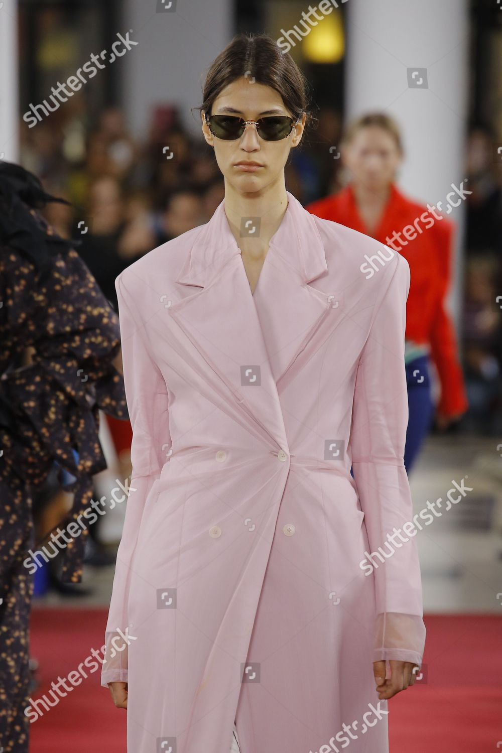 Stock photo of Y Project show, Runway, Spring Summer 2019, Paris Fashion Week, France - 27 Sep 2018