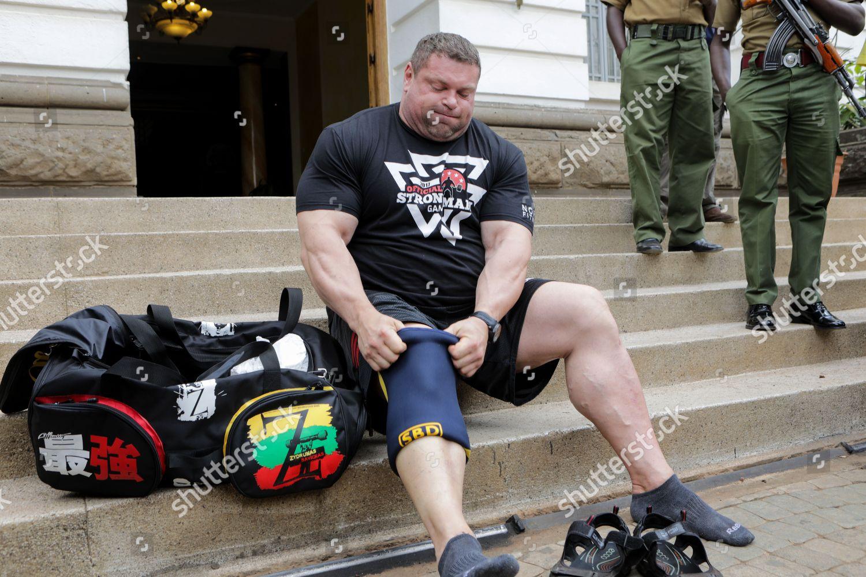 Four Time Worlds Strongest Man Zydrunas Savickas In Nairobi Kenya