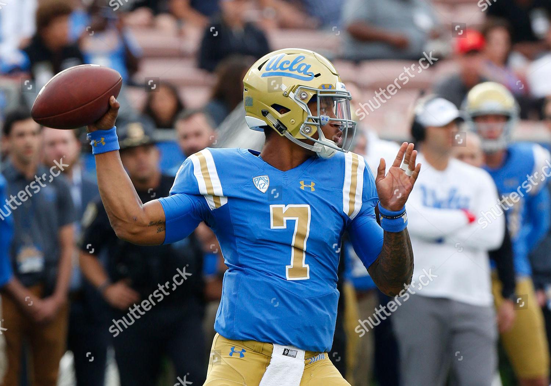 hot sale online 5d1cf 0a4e3 UCLA Bruins quarterback Dorian ThompsonRobinson 7 throws ...