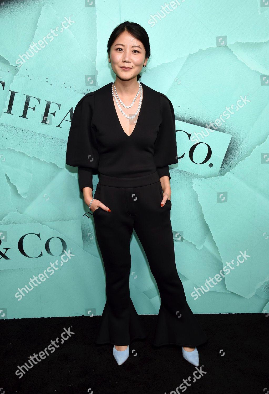 d424900e60b9 Alice Gao attends Tiffany Co 2018 Blue Editorial Stock Photo - Stock ...