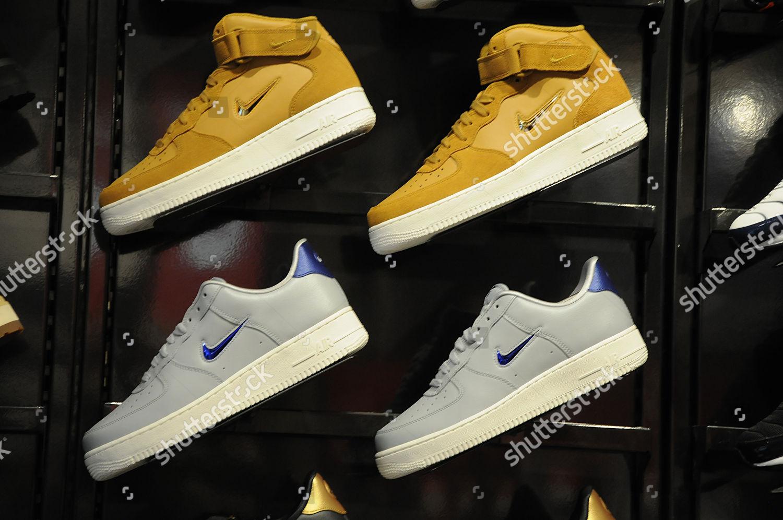 f87680bf399 Trainers sale Footlocker shoe shop Editorial Stock Photo - Stock ...