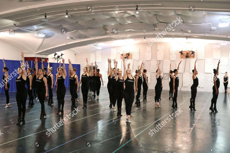 Radio City Rockettes Rehearsals Editorial Stock Photo - Stock Image ...