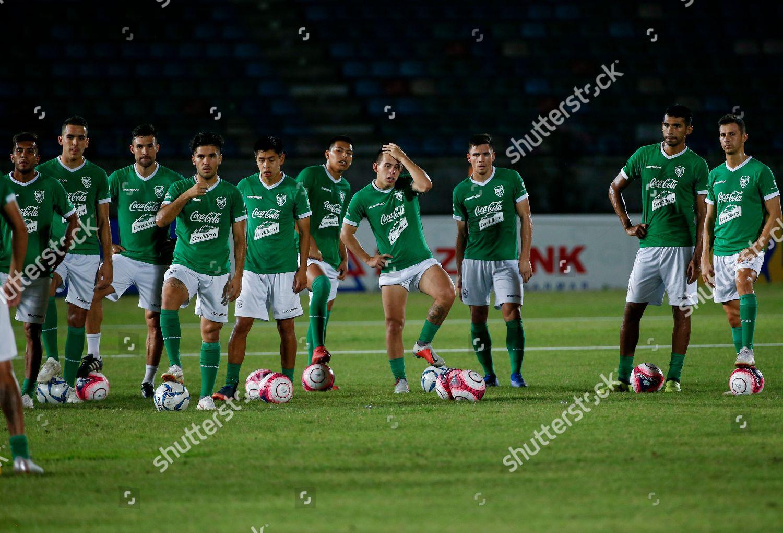 5e7ca2023 Bolivian national soccer team players attend training Editorial ...