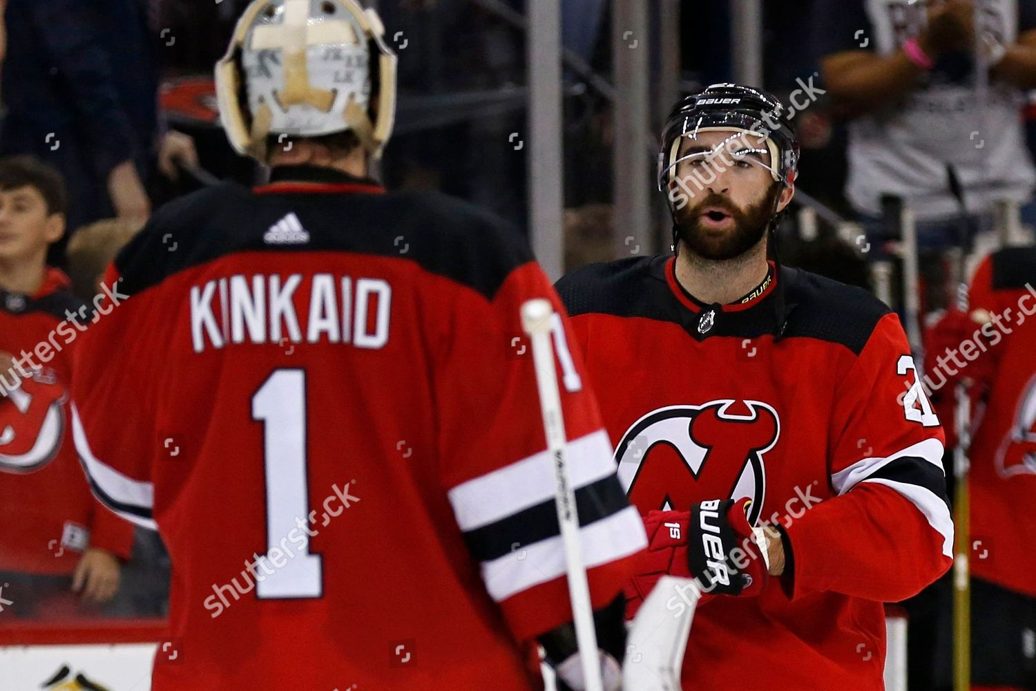 reputable site f24ef c9c4d New Jersey Devils right wing Kyle Palmieri Editorial Stock ...