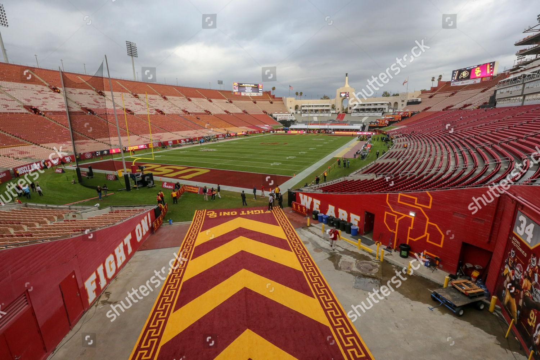 Coliseum Tunnel View Field Colorado Buffaloes Vs Editorial
