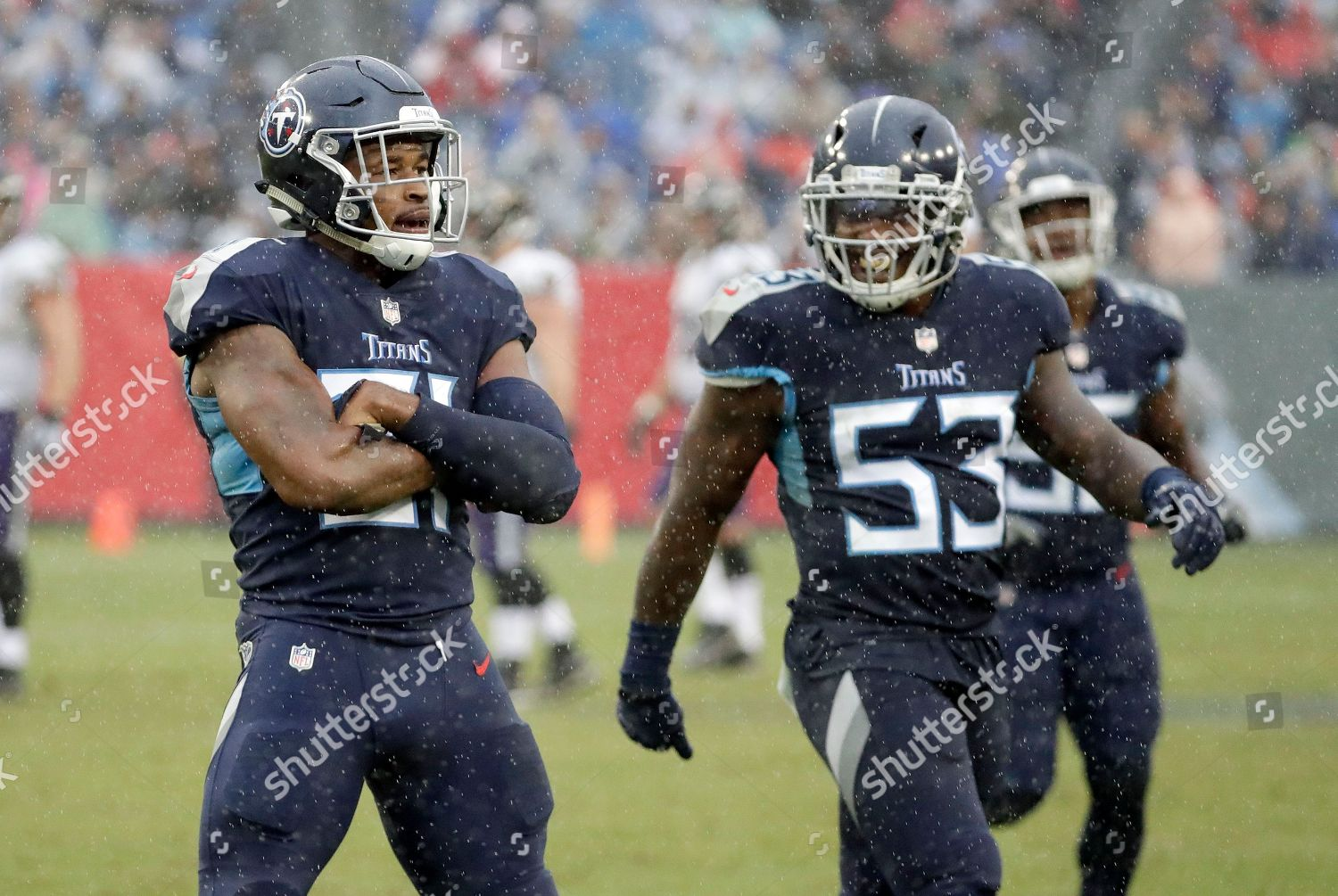 newest collection 2ef61 c7a40 Tennessee Titans linebacker Daren Bates 53 watches Editorial ...