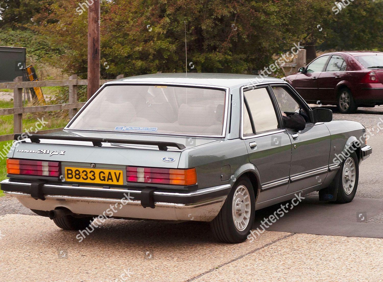 1985 Green Ford Granada 28 Ghia X Editorial Stock Photo Stock