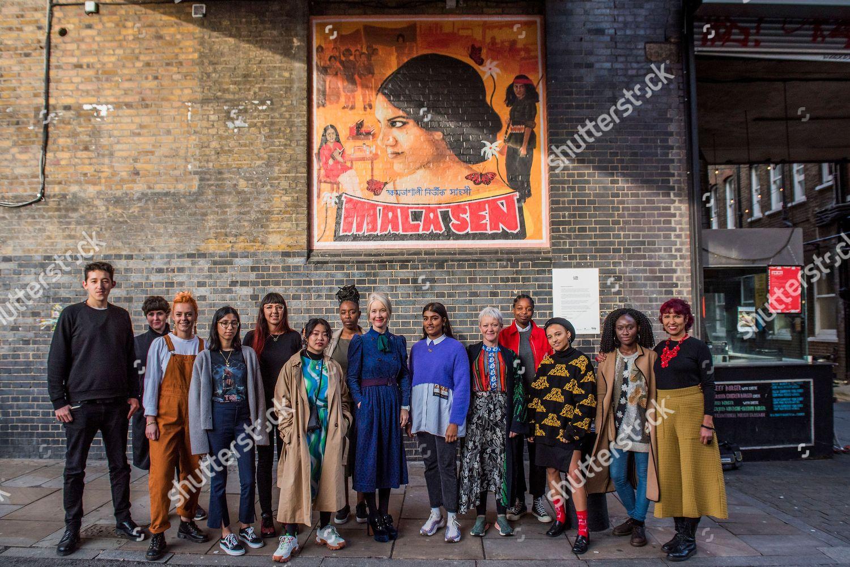 Stock photo of Suffrage centenary public artworks unveiled, London, UK - 18 Oct 2018