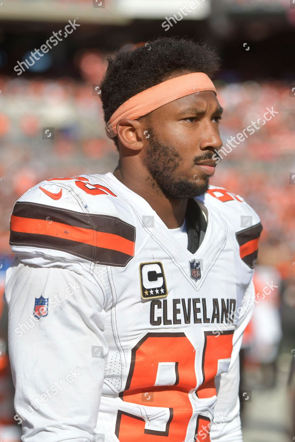 Stock Photo Of Chargers Browns Football Cleveland USA
