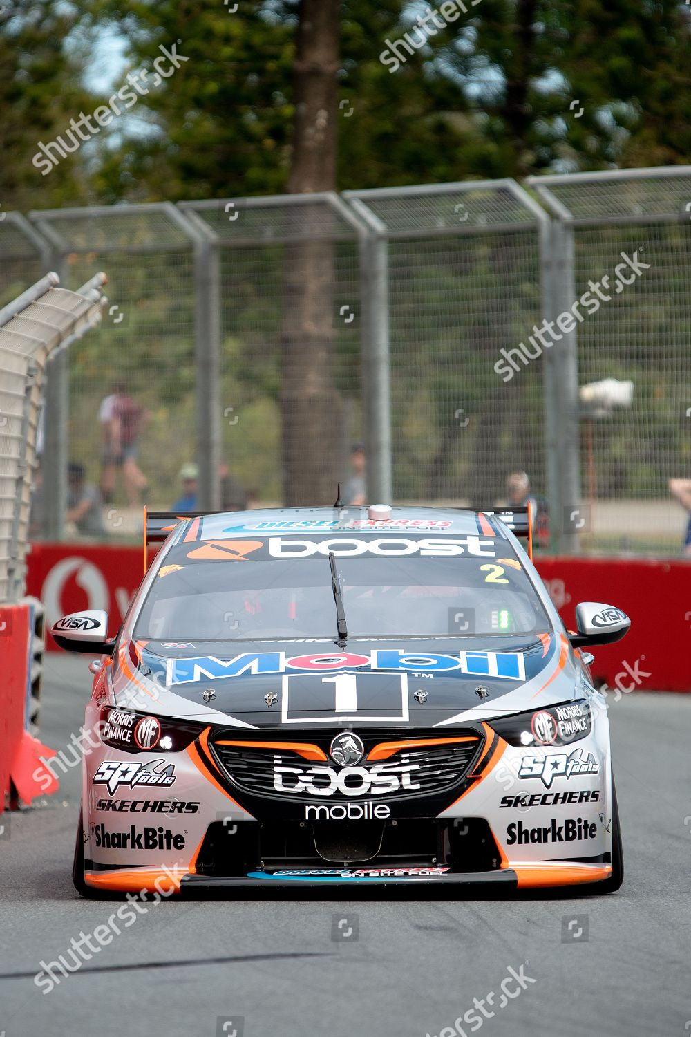 Stock Photo Of Vodafone Gold Coast 600 V8 Supercars Friday Practice