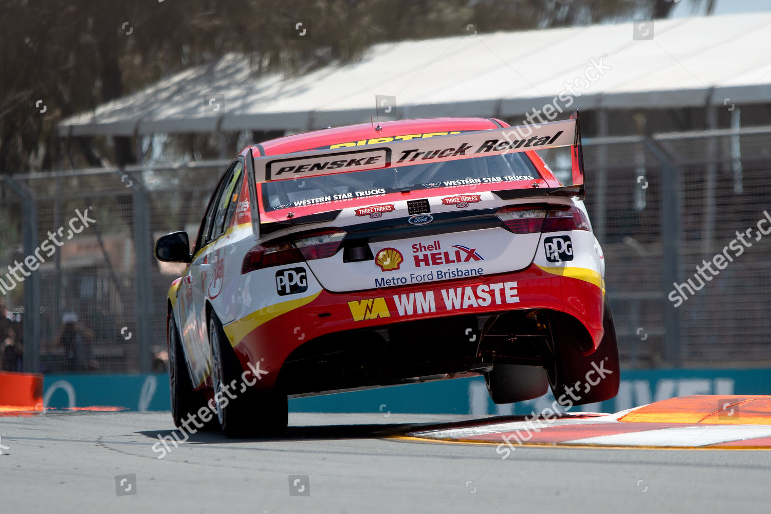 Fabian Coulthard Shell Vpower Racing Team Ford Editorial Stock Photo