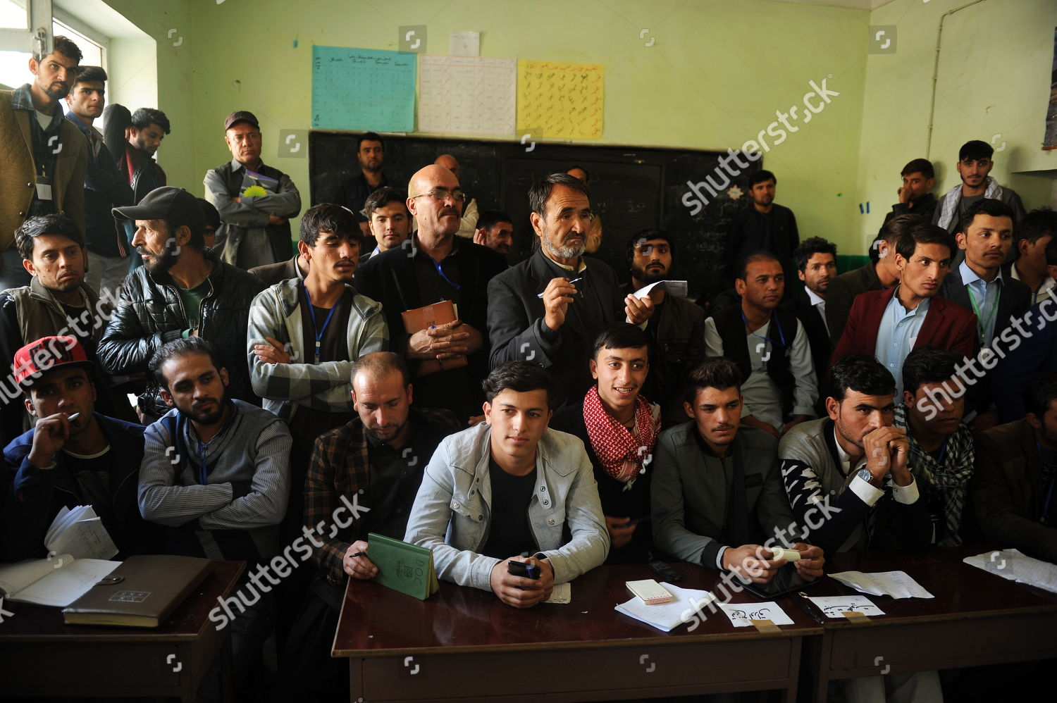 Afghan election observers watch workers Independent Election