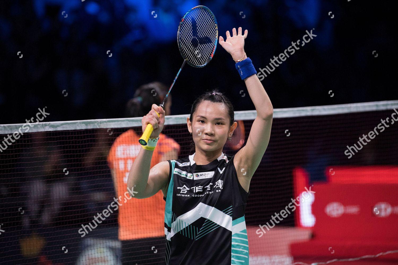 Tai Tzu Ying Taiwan Celebrates After Winning Editorial Stock Photo