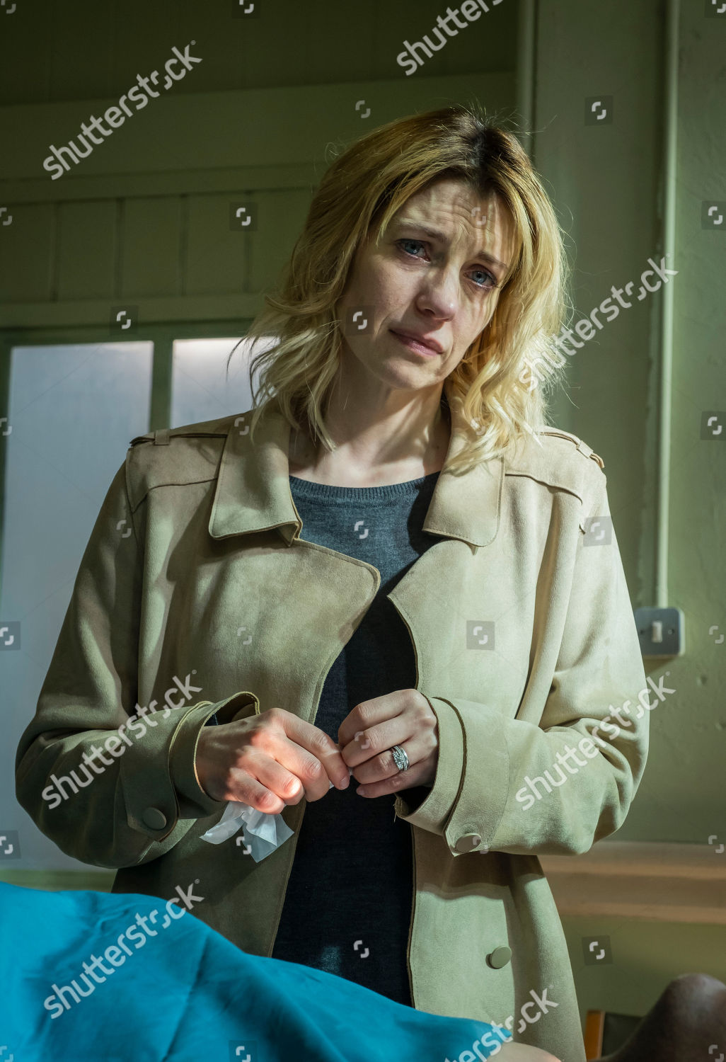 Claire Goose Phoebe Kyrkiacou Editorial Stock Photo - Stock Image