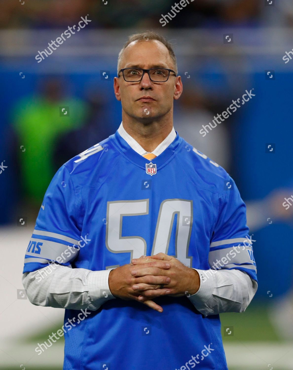 Cheap Chris Spielman former Detroit Lions linebacker appears Editorial  for sale