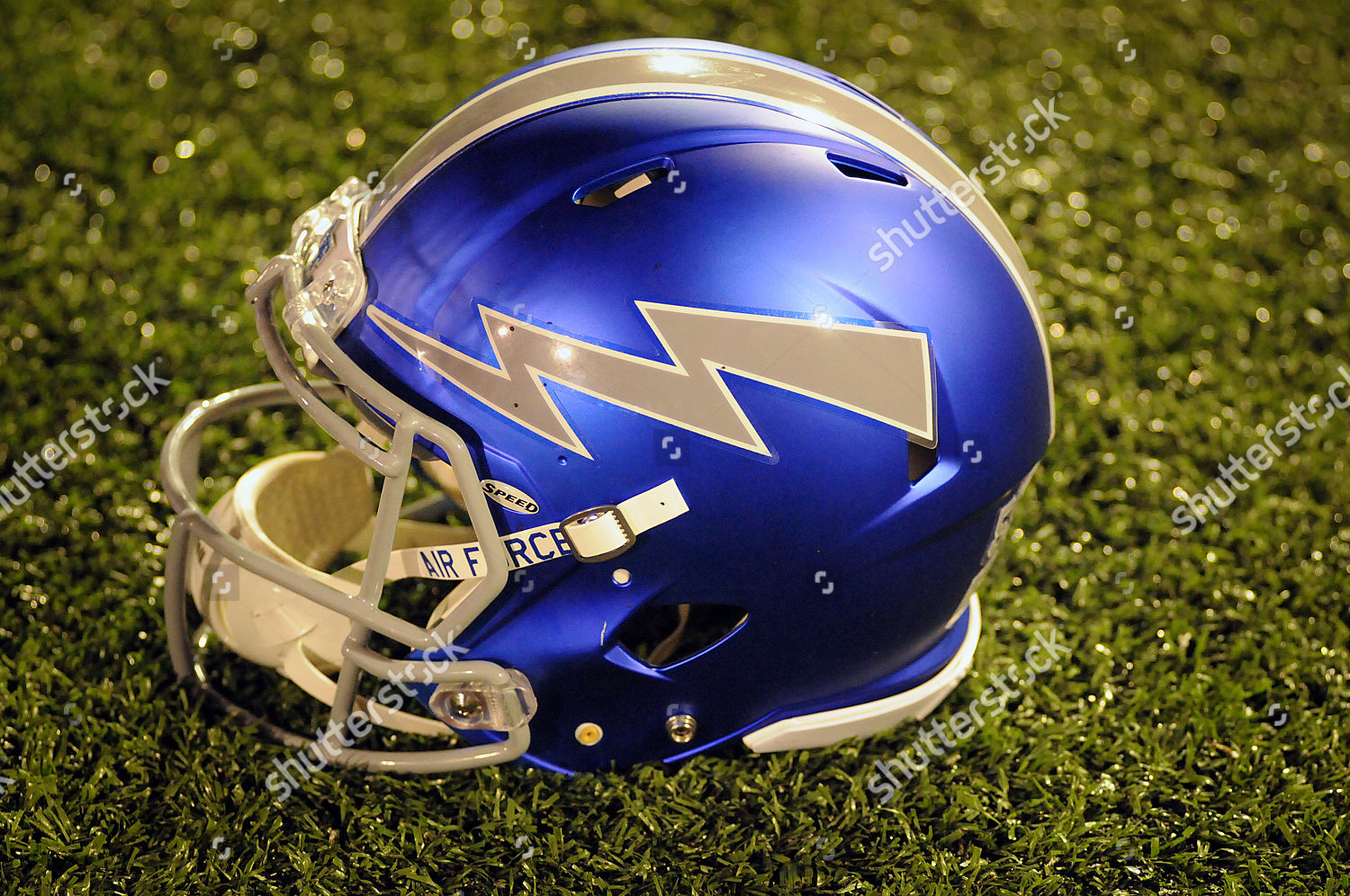 Air Force Falcon Helmet During Ncaa Football Editorial Stock Photo
