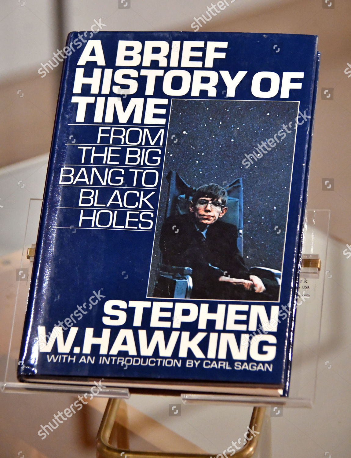 Stephen Hawkings Brief History Time 1988 Bestselling