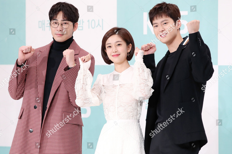 Cast members South Koreas KBS TV drama Editorial Stock Photo - Stock