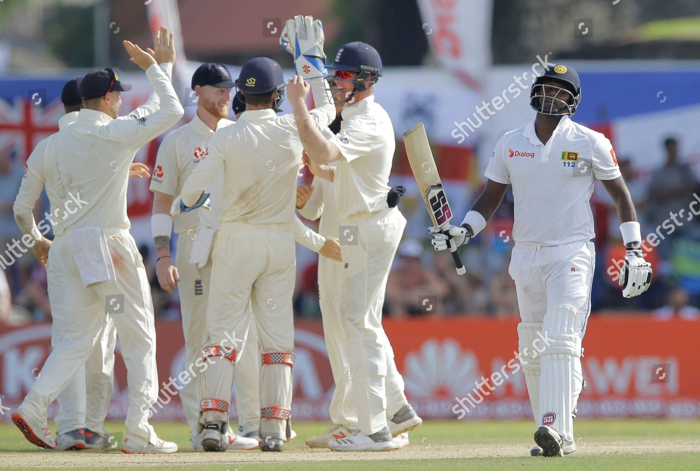 Sri Lankas Angelo Mathews right leaves Englands Editorial