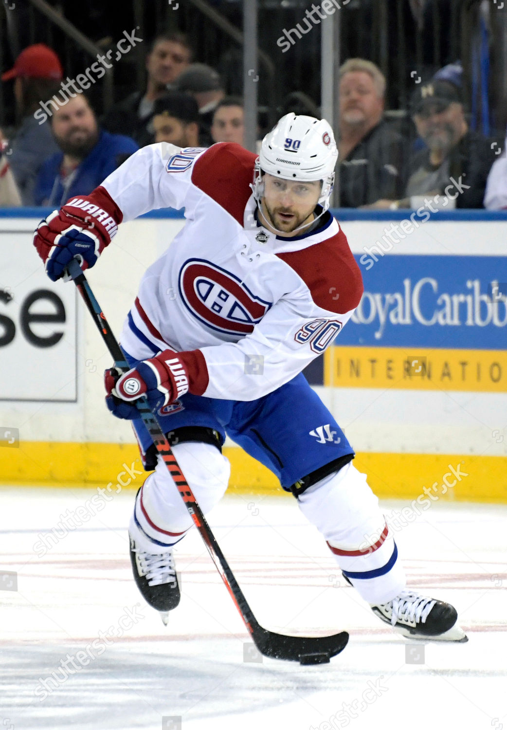 Montreal Canadiens Left Wing Tomas Tatar Passes Editorial Stock Photo Stock Image Shutterstock