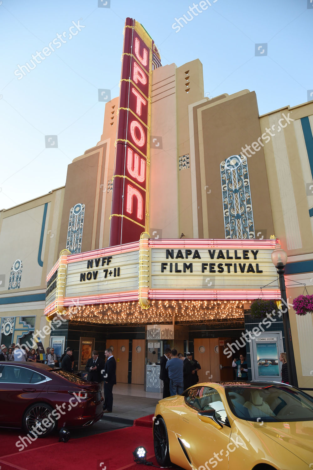 Atmosphere 2018 Napa Valley Film Festival opening Editorial