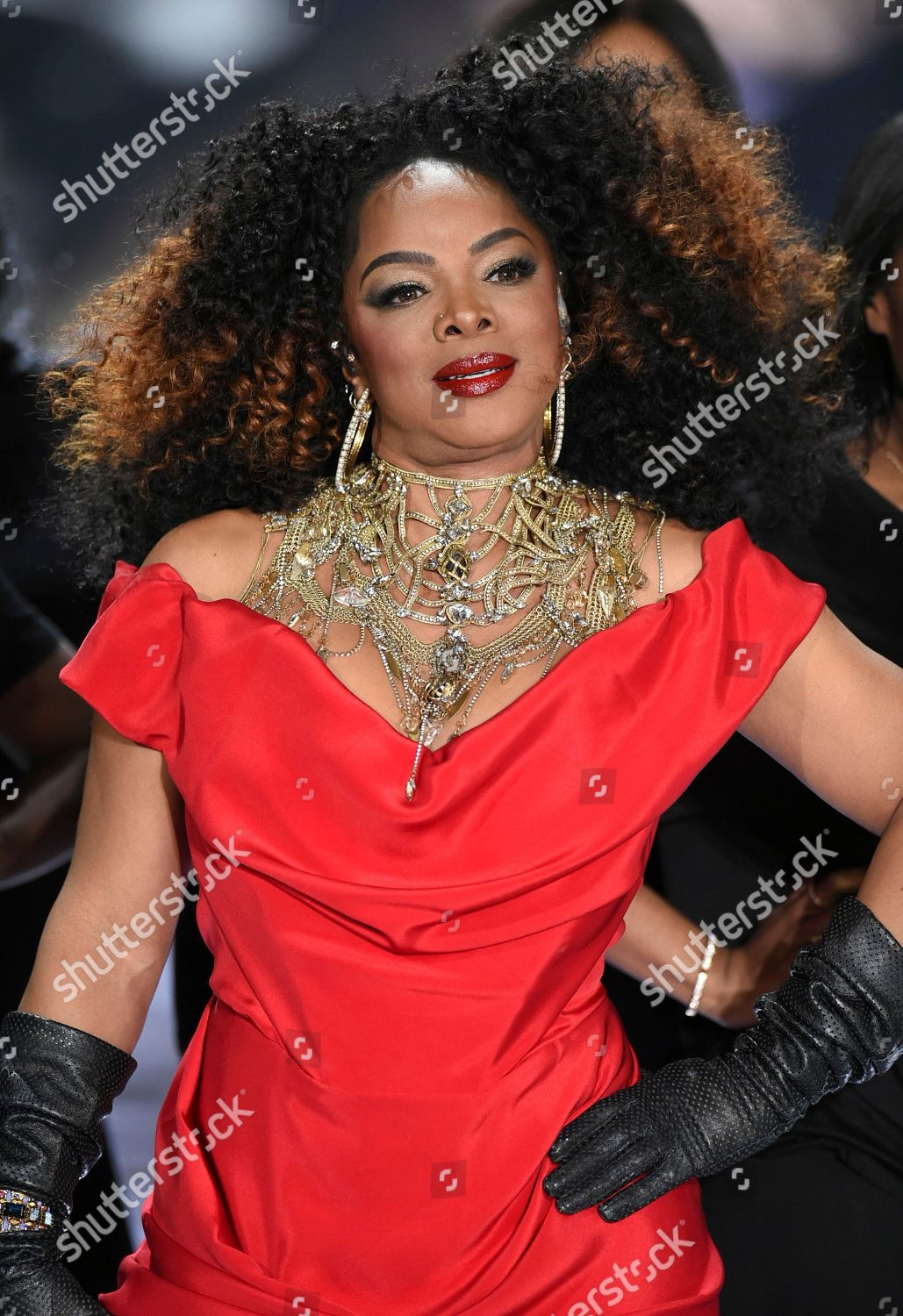 Leela James Performs During 2018 Victorias Secret Stock Photo