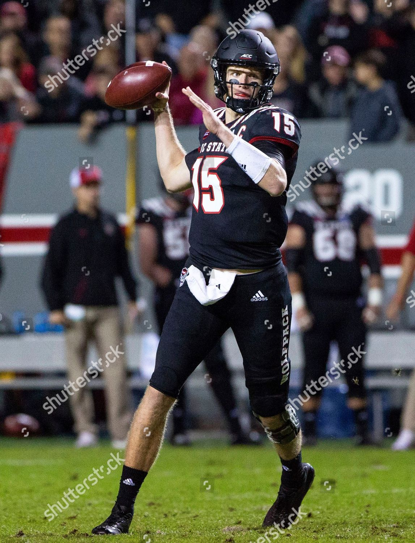 North Carolina State Quarterback Ryan Finley 15 Editorial Stock