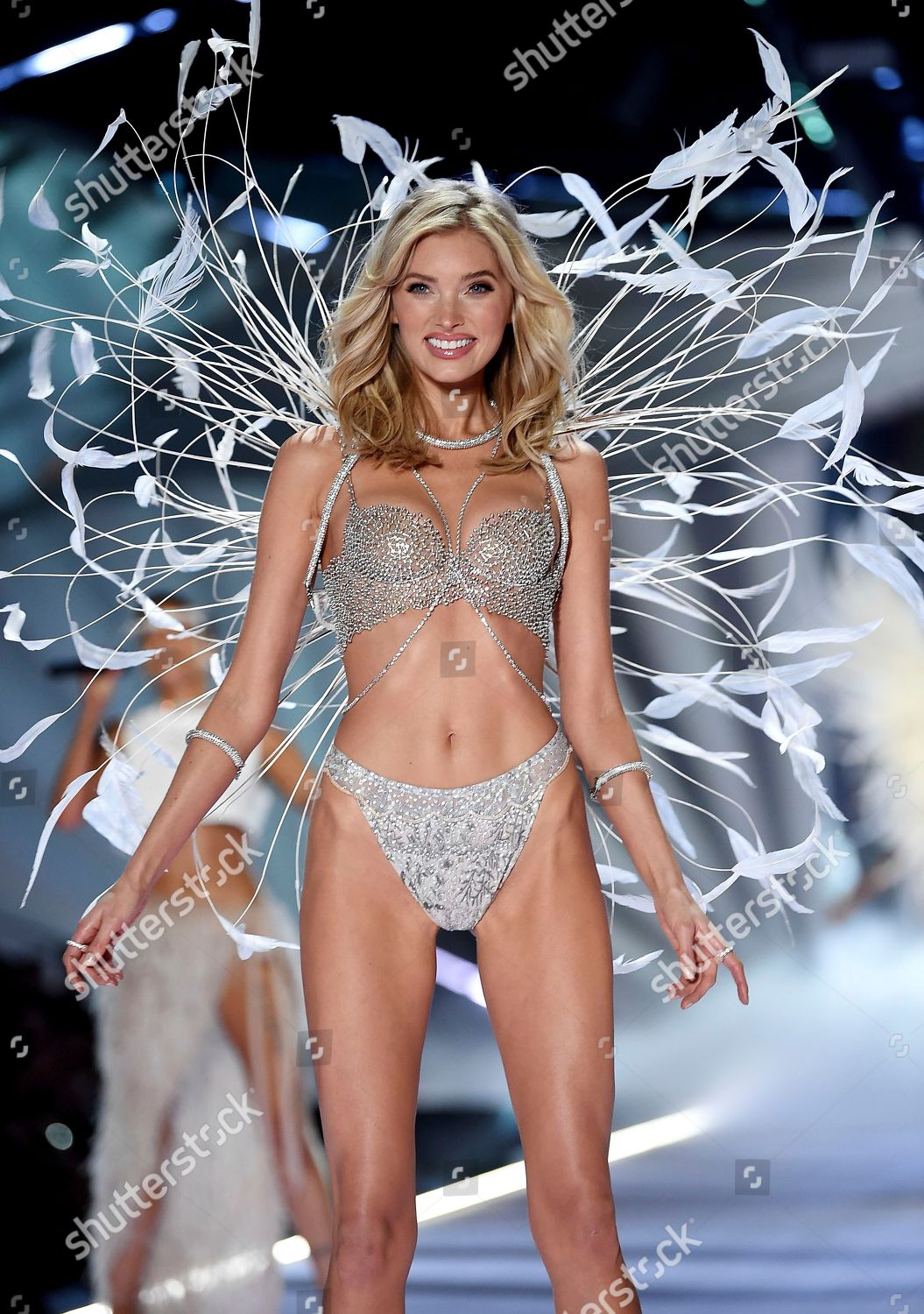 72fabe0c55 Elsa Hosk wears 1 million fantasy bra Editorial Stock Photo - Stock ...