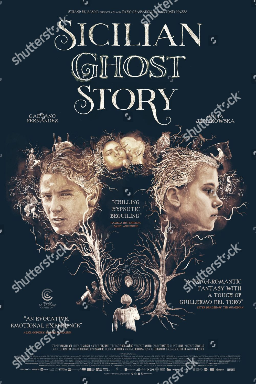 Sicilian Ghost Story 2017 Poster Art Gaetano Editorial Stock