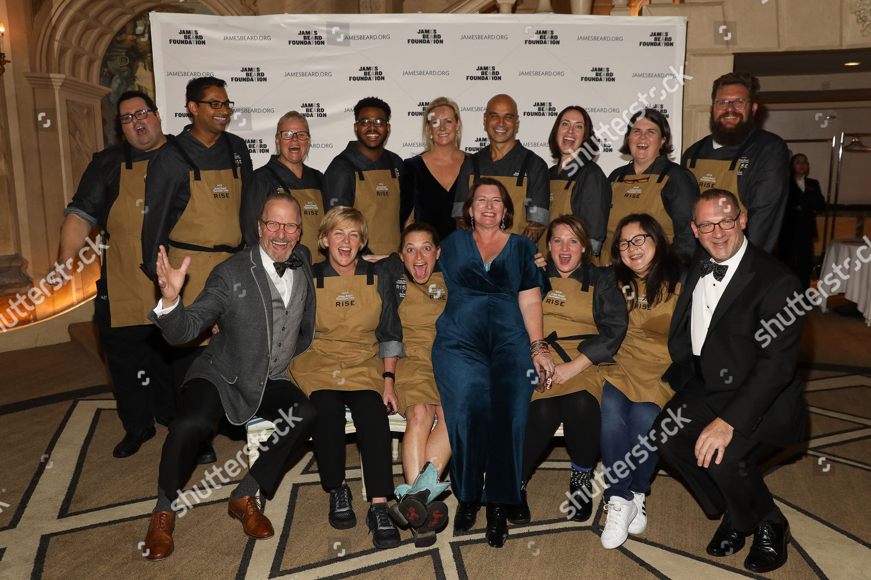 Stock photo of James Beard Foundation Gala, New York, USA - 09 Nov 2018