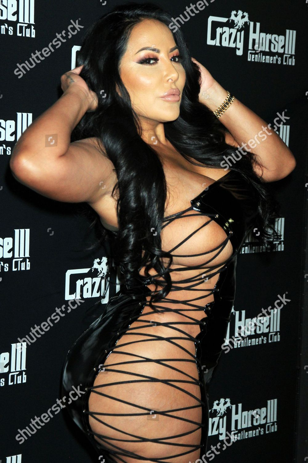 Foto De Stock De Kiara Mia Hosts Party At Crazy Horse 3 Gentlemens Club Las