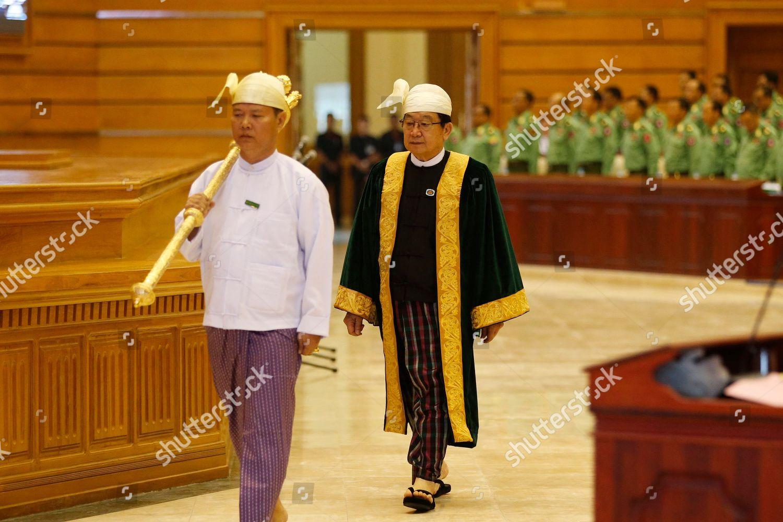 T Khun Myat C speaker Pyithu Hluttaw Editorial Stock Photo - Stock ...