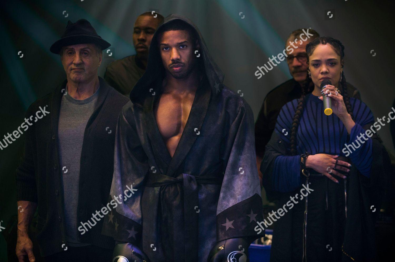 Sylvester Stallone Rocky Balboa Wood Harris Tony Stock Photo