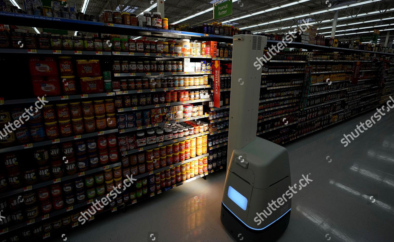 Editorial stock photo of bossa nova robot scans shelves help provide jpg  1500x921 Bossa nova robotics a6a00c61c