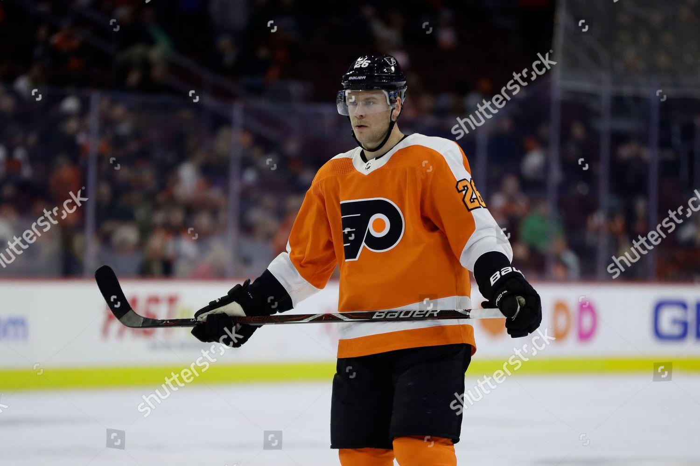 reputable site 6cf37 50ecc Philadelphia Flyers Christian Folin action during NHL ...