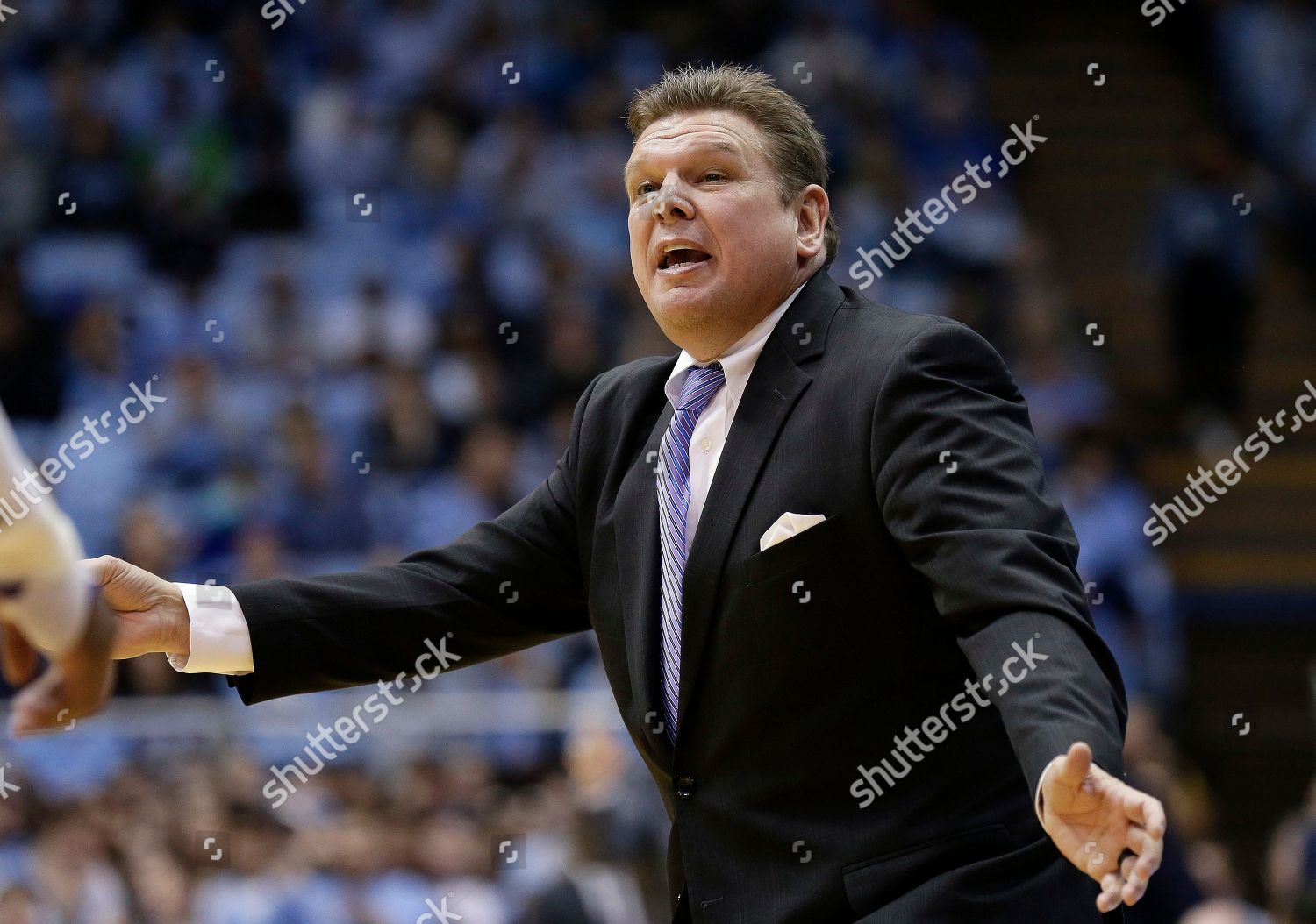 Tennessee Tech Head Coach Steve Payne Reacts Editorial Stock Photo Stock Image Shutterstock