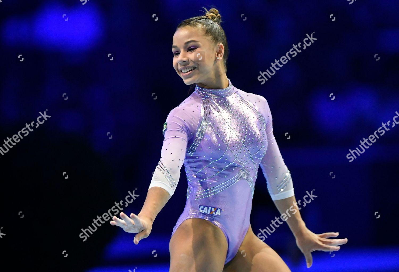 24db176e23 Stock photo of Swiss Cup 2018 in artistic gymnastics, Zuerich, Switzerland  - 18 Nov