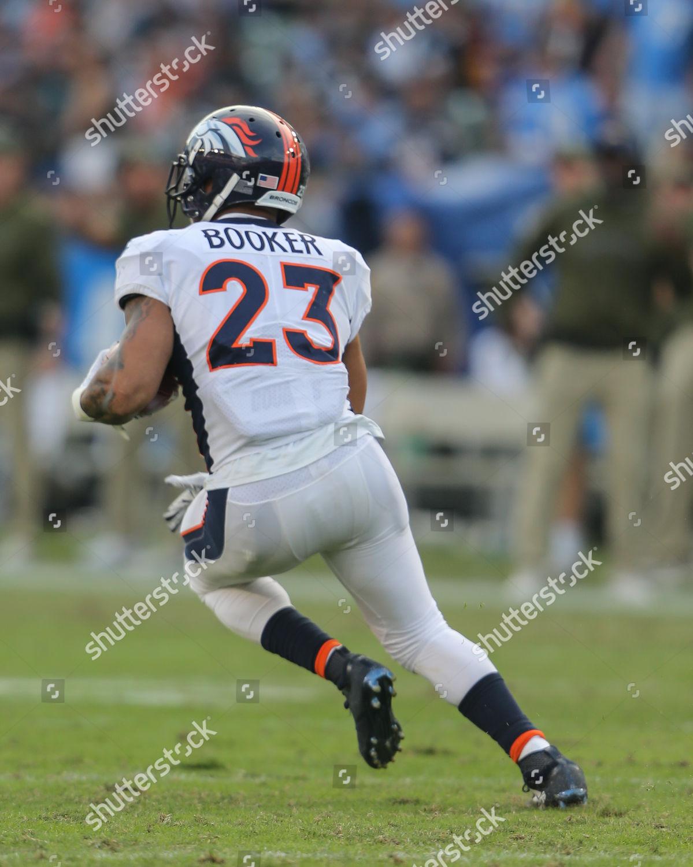 huge discount 62598 6360a Carson CADenver Broncos running back Devontae Booker ...