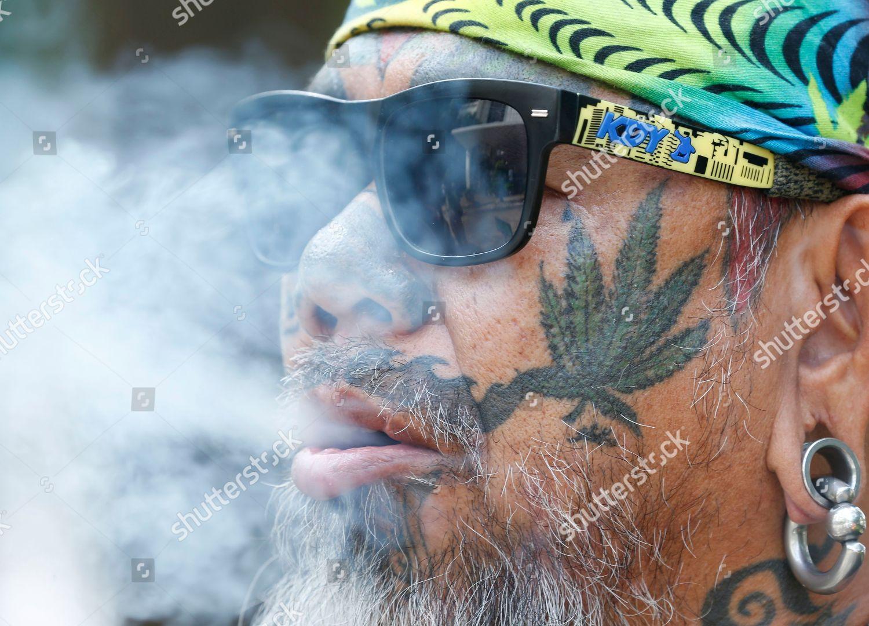 352ef8b2e0142 Stock photo of Thai activist protest against patents for marijuana  extracts, Bangkok, Thailand -