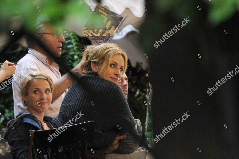 Julia Roberts Swedish Actress Tuva Novotny Editorial Stock Photo