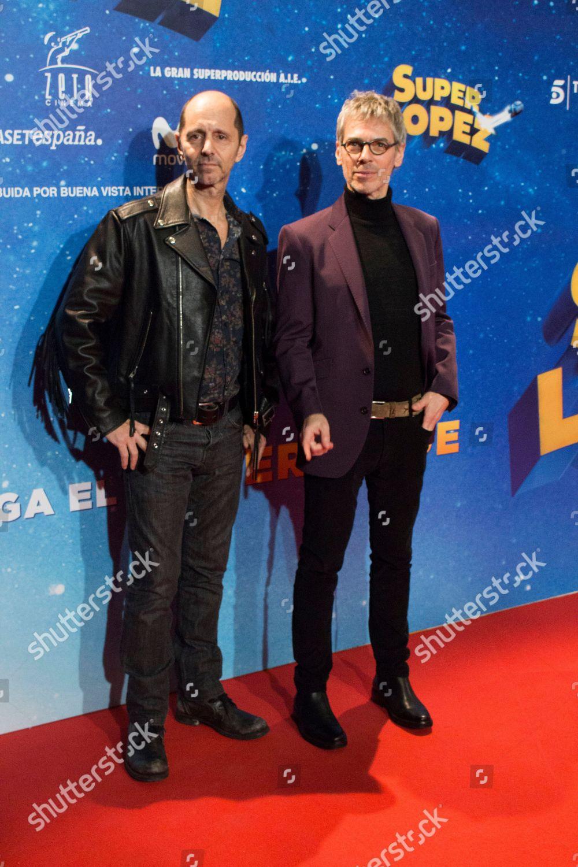 ¿Cuánto mide Alejo Stivel? - Altura Super-lopez-film-premiere-madrid-spain-shutterstock-editorial-9990397g
