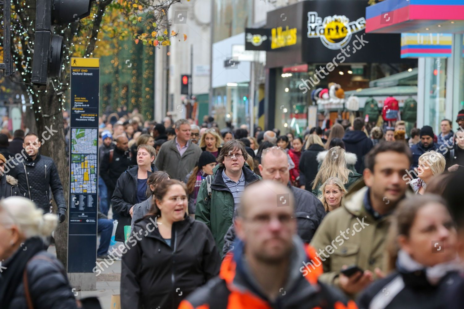 Very Busy Black Friday On Londons Oxford Editorial Stock Photo Stock Image Shutterstock