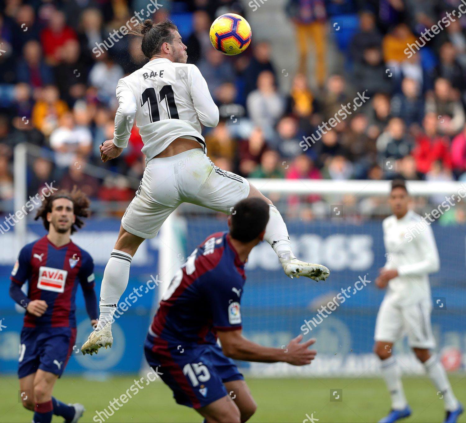 Real Madrids Welsh Forward Gareth Bale 11 Editorial Stock Photo