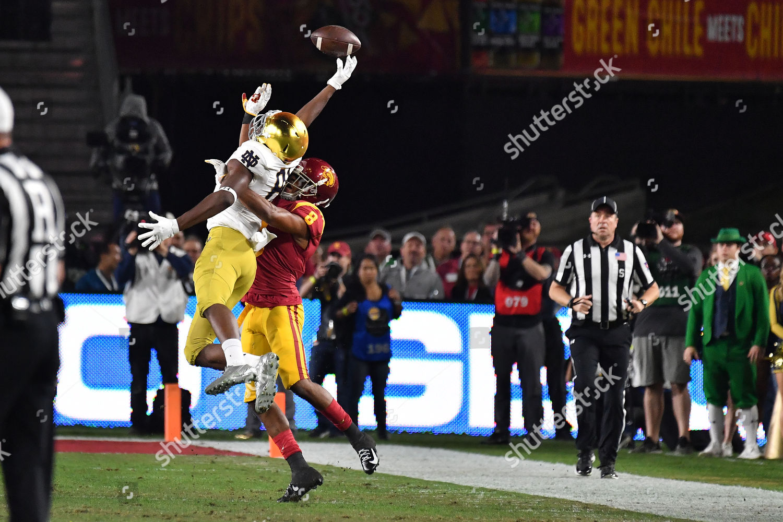 save off 1fcc3 52ea1 Los Angeles CA Trojans cornerback Iman Marshall Editorial ...