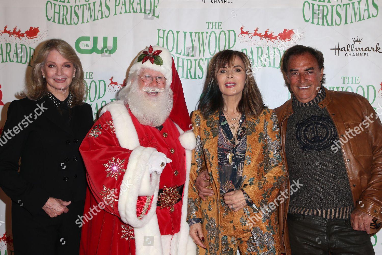 The Christmas Parade Hallmark.Deidre Hall Santa Claus Lauren Koslow Thaao Editorial Stock