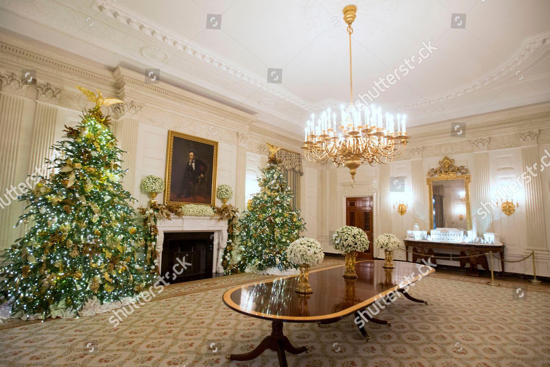 2018 Holiday Decorations At The White House Washington USA